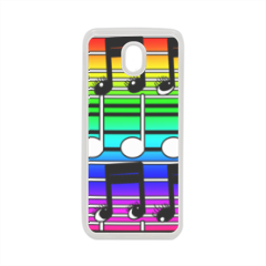 note musicali Cover in silicone Samsung J7 2017