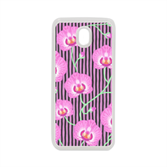 orchidee Cover in silicone Samsung J7 2017