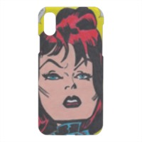 BLACK WIDOW Cover iPhone X 3D