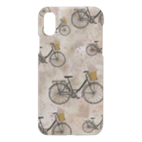 biciclette Cover iPhone X 3D