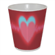hearts in love Tazza Milk Panoramica